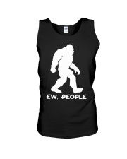 Ew people - Bigfoot Unisex Tank thumbnail