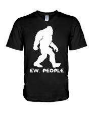 Ew people - Bigfoot V-Neck T-Shirt thumbnail