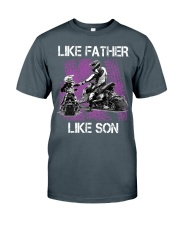 Like father like son snowmobile Classic T-Shirt thumbnail