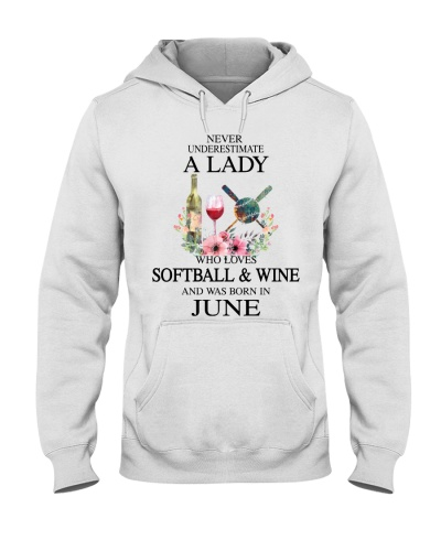Softball - Wine Never Underestimate a Lady - June