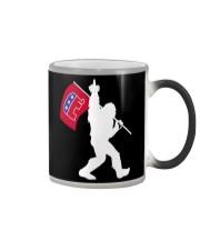Bigfoot Republican Elephant Up Yours Democrats Color Changing Mug thumbnail