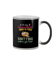 In My Dream World -Knitting Color Changing Mug thumbnail
