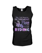 Motorcycle- Retirement Plan 9997 Unisex Tank thumbnail