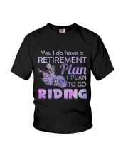 Motorcycle- Retirement Plan 9997 Youth T-Shirt thumbnail