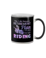 Motorcycle- Retirement Plan 9997 Color Changing Mug thumbnail