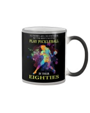Pickleball - creat equal eighties  Color Changing Mug thumbnail