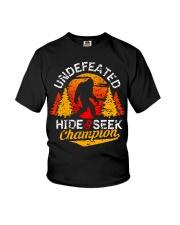 Bigfoot Hide and Seek Champion Youth T-Shirt thumbnail