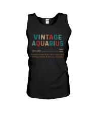 Vintage Aquarius  Unisex Tank thumbnail