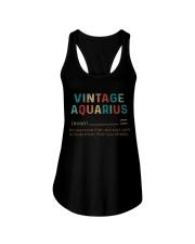 Vintage Aquarius  Ladies Flowy Tank thumbnail
