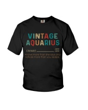 Vintage Aquarius  Youth T-Shirt thumbnail