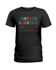 Vintage Aquarius  Ladies T-Shirt thumbnail