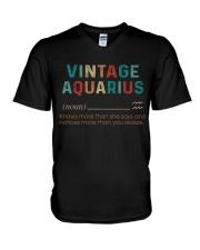 Vintage Aquarius  V-Neck T-Shirt thumbnail