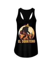 Bigfoot el squatcho 6 Ladies Flowy Tank thumbnail
