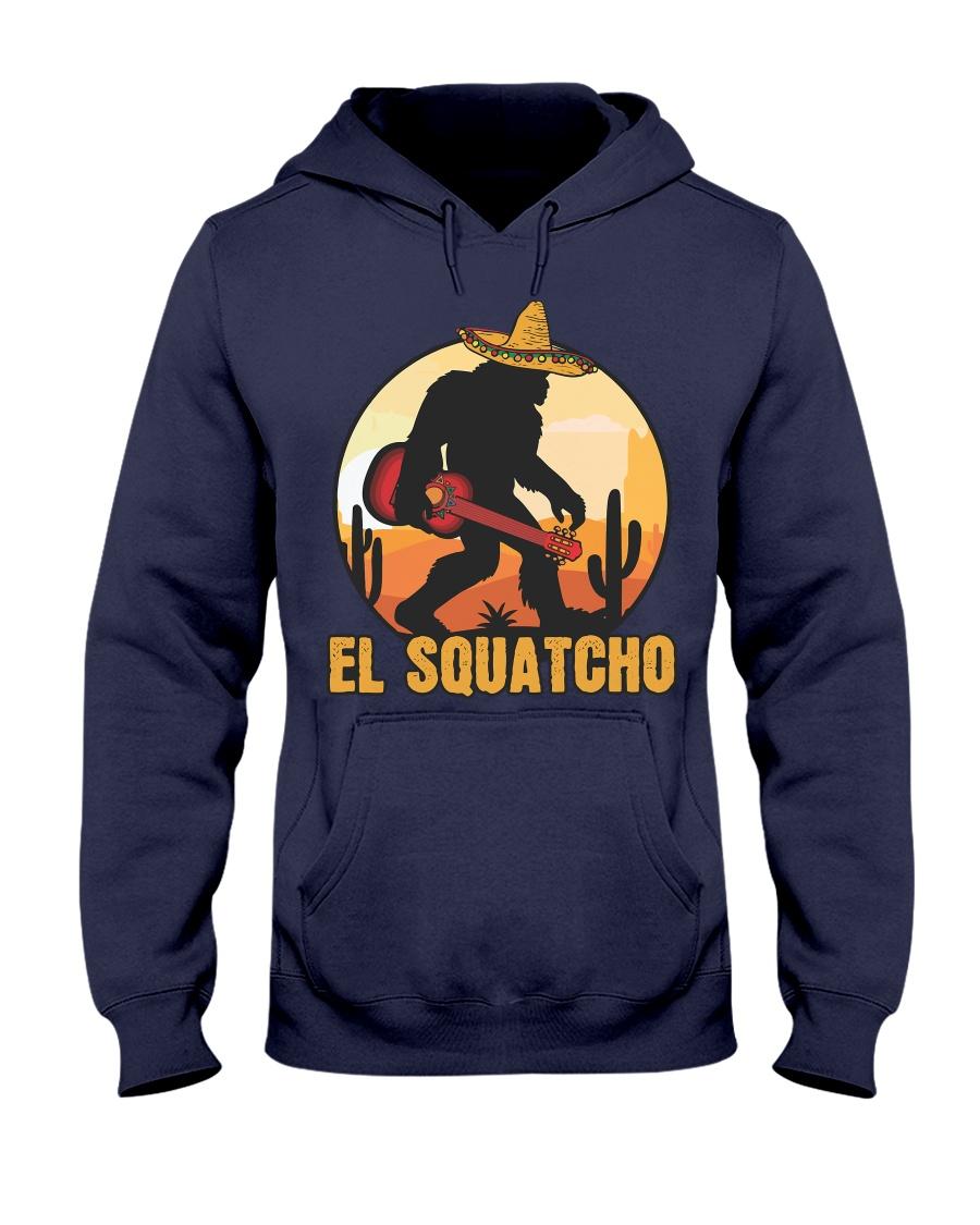 Bigfoot el squatcho 6 Hooded Sweatshirt