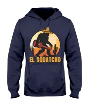 Bigfoot el squatcho 6 Hooded Sweatshirt front