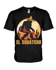 Bigfoot el squatcho 6 V-Neck T-Shirt thumbnail