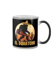 Bigfoot el squatcho 6 Color Changing Mug thumbnail