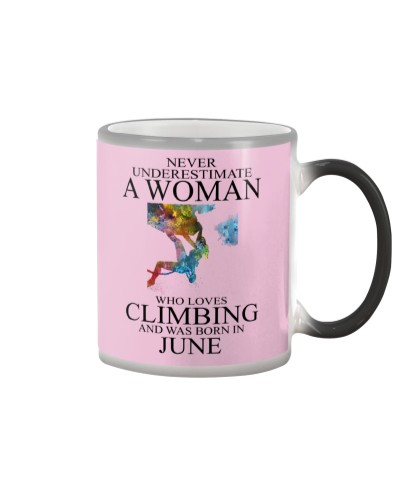 Climbing Never Underestimate A Woman June