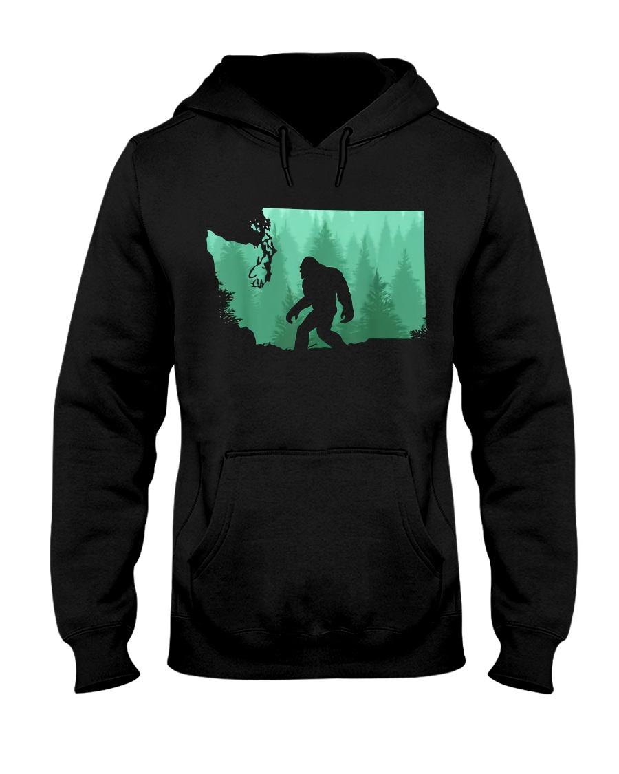 Bigfoot Washington Hooded Sweatshirt