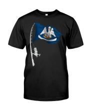 Fishing rod Louisiana 0037 Classic T-Shirt front