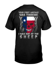 Your first mistake Texas 9993 0037 Classic T-Shirt back