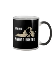 Virginia Bigfoot Hunter Color Changing Mug thumbnail