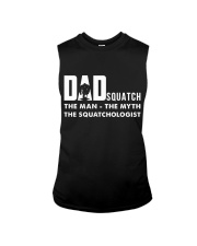 Dad squatch Sleeveless Tee tile