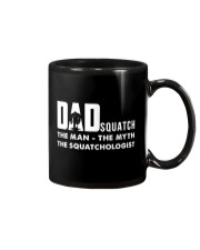 Dad squatch Mug tile