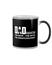 Dad squatch Color Changing Mug tile