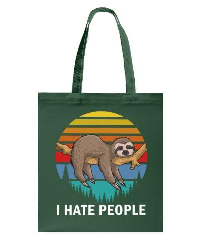 I hate people - sloth