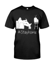 Bigfoot stayhome Classic T-Shirt thumbnail