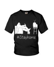 Bigfoot stayhome Youth T-Shirt thumbnail