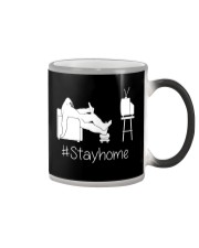 Bigfoot stayhome Color Changing Mug thumbnail