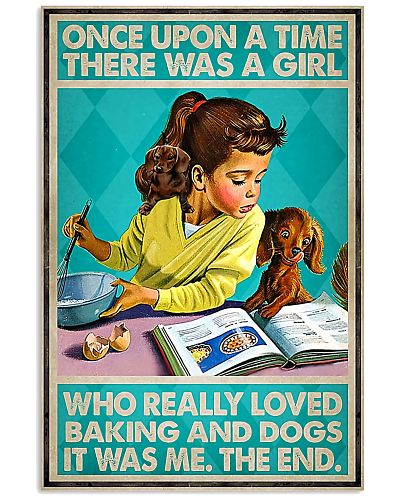 Once upon time girl loved baking and dogs 0037