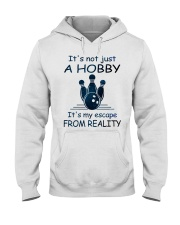 It's not just a hobby - Bowling Hooded Sweatshirt front