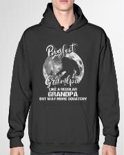 Mens Bigfoot Grandpa Hooded Sweatshirt garment-hooded-sweatshirt-front-04