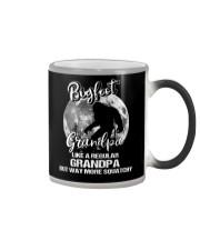 Mens Bigfoot Grandpa Color Changing Mug thumbnail