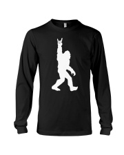 Bigfoot rock and roll - Year end sale Long Sleeve Tee thumbnail