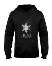 Utah is always home 9992 0037 L0 Hooded Sweatshirt front