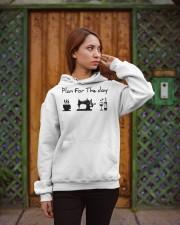 sewing coffe and wine plan Hooded Sweatshirt apparel-hooded-sweatshirt-lifestyle-02