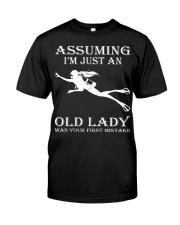 scuba diving assuming Classic T-Shirt thumbnail