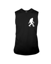 Funny bigfoot hand gesture - two side Sleeveless Tee tile