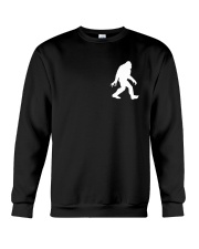 Funny bigfoot hand gesture - two side Crewneck Sweatshirt thumbnail
