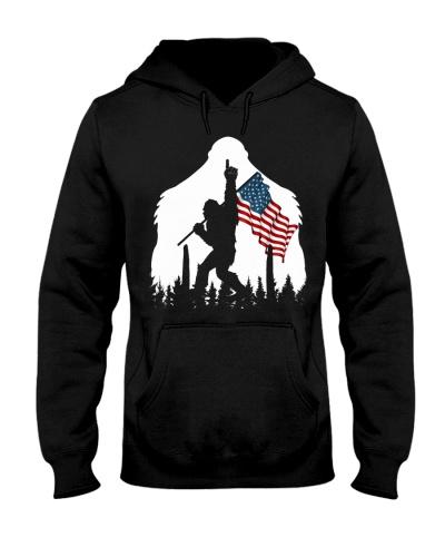 Bigfoot No1 USA flag