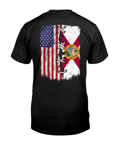 Florida and American flag 0037