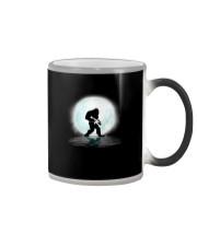 Bigfoot Gun under the moon Color Changing Mug thumbnail
