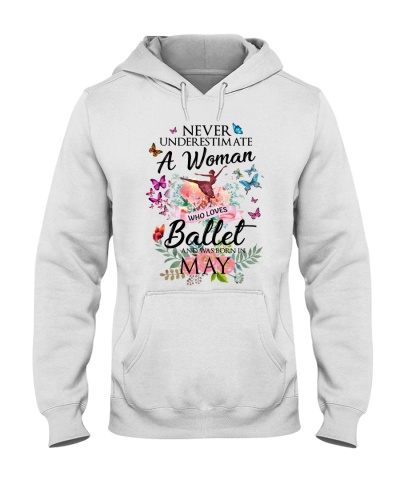 A Woman Who Loves Ballet And Born In May