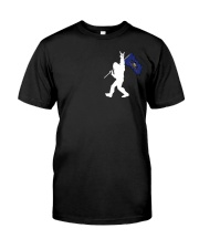 Pennsylvania - Bigfoot Flag 2 sides Classic T-Shirt thumbnail