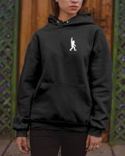 Bigfoot  American USA Flag - two-sided Hooded Sweatshirt apparel-hooded-sweatshirt-lifestyle-front-03