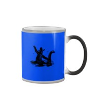 Bigfoot Riding Loch Ness Monster Color Changing Mug thumbnail
